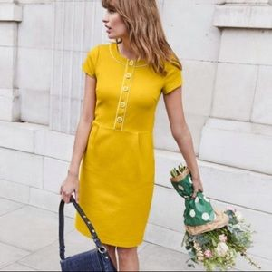 NWT Boden Grace ponte dress 60'a style dress
